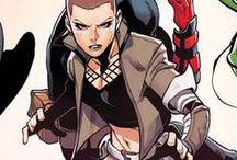Marvel: Negasonic Teenage Warhead / One of Emma Frost's students who died on Genosha, Frost clung on to Ellie Phimister's body until she was rescued. She created a telepathic construct of her known as the Negasonic Teenage Warhead during an assault on the X-Men. Phimister was later resurrected by Eli Bard & sacrificed to Selene.