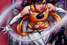 Marvel: Wind Dancer / Sofia Mantega was formerly the mutant Wind Dancer, a mutant with wind-based powers. She is a former member of the New Warriors.