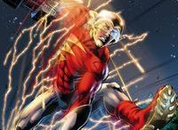 DC: The Flash V / Jay Garrick resides on The New 52's version of Earth-2 as a young man and that world's version of The Flash gifted with powers of super speed by the God Mercury.