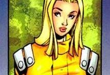 Marvel: Wallflower / Wallflower, (Laurie Collins) was one of the students in the Xavier Institute, and a member of the former New Mutants squad therein. After the events of M-day, she was one of a handful of mutants to keep her pheromone based powers.