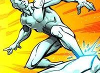 Marvel: Iceman (Past) / This is the Iceman that was sent to the future with the other original five X-Men by Beast.