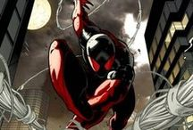 Marvel: Scarlet Spider II / Kaine was the first clone of Spider-Man created by the Jackal. He was suffering from clone degeneration and was used as a test subject until he fled. He became an assassin and spent years tormenting his clone brother Ben Reilly until he was eventually cured of his cellular degeneration and has taken up the mantle his now dead brother as the new Scarlet Spider.