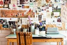 My Workspace / Office supplies, interiors, furniture / by Jamie Aucoin