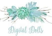 Digital Dolls from Polyvore / #dolls