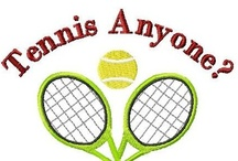Tennis Anyone?  / Tennis is one of my passions for sure. This is an assortment of all things depicting tennis & some of the amazing pro players!  / by Cindy Godwin