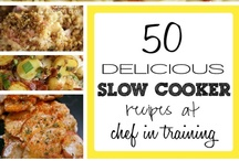 Slow Cooker Recipes  / I love my slow cooker. Simple as that! I love to put everything in it in the morning and come home late afternoon to the smells and aromas of my evening meal! Here are some great suggestions for your own slow cooker experience.  / by Cindy Godwin