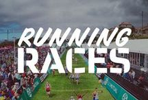 Running Races We Love / There's nothing quite like the competitive spirit and motivational energy of a running race. Get motivated to get involved in local races! We're pinning snippets from our favourite moments of the best running races, whether it's in South Africa or globally, road or trail, a quick little 5km or an ultra-marathon.