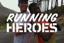 Great People, Great Runners  / Aspirational, admirable and seriously fast... we love these great runners!