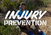 Injured! :(  / Picked up an injury from running? Here's everything you need to know about shinsplints, ITBS, niggly knees or just feeling downright sore!