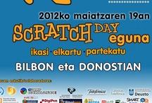SCRATCHEGUNA / Scratchday en Bilbao, niñas y niños scratchers disfrutando del aprendizaje y la colaboración.