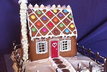 Gingerbread / Gingerbread houses and other gingerbread creations