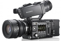 Sony F5 CineAlta Camera / New Sony F5 CineAlta Camer features a super 35mm 4K sensor, 120fps frame rate, 16-bit linear RAW 2K/4K recording, PL lens mount, and is rated at 2000 ISO