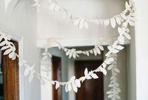 Paper flowers-tassels-crafts & such.
