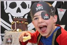 Pirate Party Ideas / Ideas for a Pirate Party. Ideas for pirate themed cupcake wrappers, boxes, invitations and lots more...
