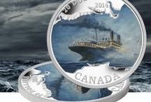Historic Events / The Royal Canadian Mint is proud to produce numismatic and commemorative circulation coins honouring major national achievements, anniversaries and events. / by Royal Canadian Mint