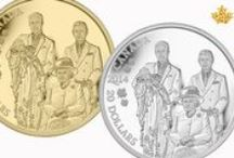 Canada's Royal Family / The Royal Canadian Mint is proud to celebrate important historical events such as the Queen's Diamond Jubilee, and the birth of Prince George of Cambridge on our collector coins.  The effigy of our monarch has appeared on every Canadian coin produced by the Mint since 1908.