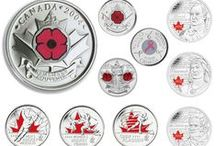 Circulation Coins / Over one billion Canadian circulation coins are minted each year at our high-tech plant in Winnipeg. The effigy of our monarch has appeared on every Canadian coin produced by the Mint since 1908. Reverse designs, however, have changed considerably over the years to reflect the changing face of our diverse culture, as has the use of technology such as colour.