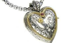 Locket collection / Gerochristo Jewelry lockets gold 18k and sterling silver engraved in traditional Greek design.