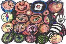 CIRCULOS CREATIVOS / Dibujamos círculos y los cambiamos por sentimientos.