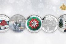 Holiday Coins / Find something for everyone on your list at the Royal Canadian Mint! Our new holiday coins are available now at www.mint.ca