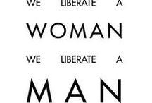 Feminism / by Jenny Vorwaller