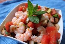 Flavours of summer / Tasty food ideas for the summer months
