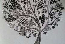Zentangle / Doodling art / by Dana Tolbert