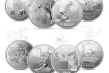 Looney Tunes / Get ready to be transported back to your childhood, watching Saturday morning cartoons! The Royal Canadian Mint has faithfully reproduced all of your favourite Looney Tunes characters in an all-new set of collector coins. As a special treat for fans, each coin in this collection features a hidden surprise design element. Can you find them all?  / by Royal Canadian Mint