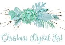 Christmas Digital Art / digital art, creative art, clip art, printables ~ great for web pages, products, like t-shirts, coffee cups, web pages, wedding invitations, Christmas cards, wall art, table decor, church flyers, posters and the list goes on and on...LET'S BE CREATIVE!!!