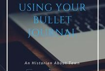 Bullet Journaling / Bullet Journaling- supplies, how tos, spreads, and finished pages!