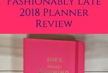 Planner Love / Planners, agendas, journals, and organizers of all kinds!