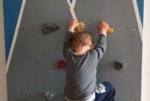 Kletterwand / Als Geburtstagsgeschenk bekommt Flo eine eigene Kletterwand in unserer Wohnung. Ideen zu diesem Projekt sammle ich hier...