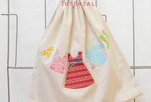 Bags, Purses & Pouches: crafting and sewing Ideas / Beutel, Taschen und Täschchen: Ideen zum nähen