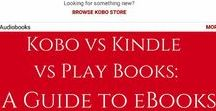 E-reading / Using your Kobo, Kindle, Nook, tablet, or device for e-reading- tips, tricks, and reviews! #ereader #Kobo #Kindle #Nook