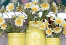 mason jar ideas / love these jars and their million uses!