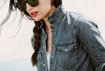//Bad-to-the-Bone in Blue Jeans// / Seriously, what would we do without denim?  / by Tiffany Hendra
