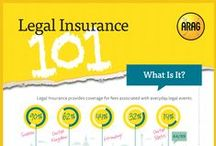 What's Legal Insurance? / Legal insurance allows people to more easily find an attorney while taking away the fear of cost. Much like consumers use health insurance to pay for the cost of visiting a doctor, legal insurance covers the cost of working with an attorney.
