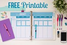 Printables & Planners / by 🌻Jessica Stewart🌻