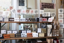 Charles Lahti Studio / limited edition prints, exclusively created  for Kate's Paperie by master printer and artist, Charles Lahti / by Kate's Paperie