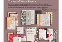 Products: Calendars & Journals / keep track of what matters most in beautiful style  / by Kate's Paperie