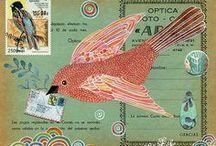 Journal Art / creative inspiration from varied journals