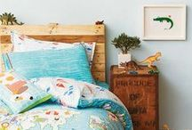 Cool Boys Rooms / A whole lot of cute, creative and colourful boys bedroom ideas. Get your inspiration for decorating your little mister's room!