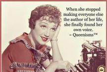 Queen / Queenisms are original jolts of inspiration