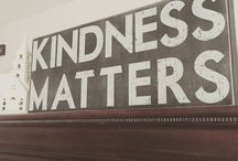 Kindness Matters! / Kindness acts/service projects