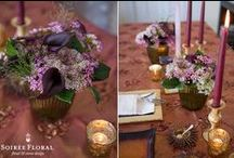 Thanksgiving / Recipes, Table Designs and Hostess Gift Ideas for your Thanksgiving Holiday curated by Soirée Floral. www.soireefloral.com | blog.soireefloral.com