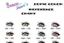 Copic Color / All things #Copic Marker...coloring tutorials, new colors and more