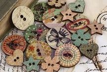 Who's got the button? / #Crafts, #Jewelry and Artwork created with #Buttons