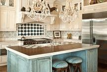 Kitchens / Kitchen Design, Color schemes, storage and layouts / by Plucking Daisies (Amy Bowerman)