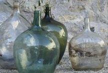 Dekorationen Glas