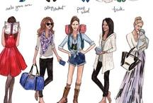 Fashion ilustrations / by Alba J.U.